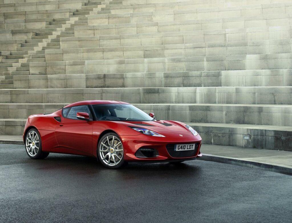 Lotus Evora GT410 Sideview
